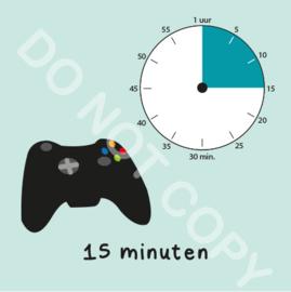 Game tijden 15 min (BT) - M