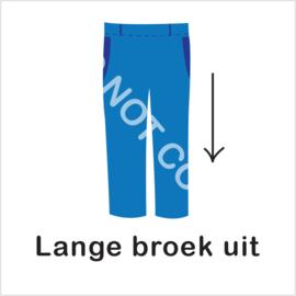 BASIC - lange broek uit