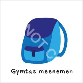 Gymtas meenemen (S)