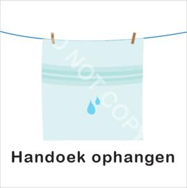 BASIC - Natte handdoek ophangen