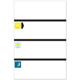 Planbord DAG BASIC +WR KIDS