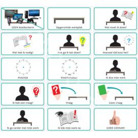 Werkmethode + Vragenkaart TV