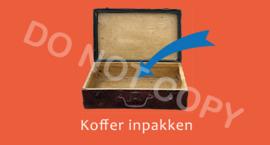 Koffer inpakken - (K)T/V