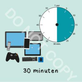 Beeldschermtijd 30 min (BT) - M