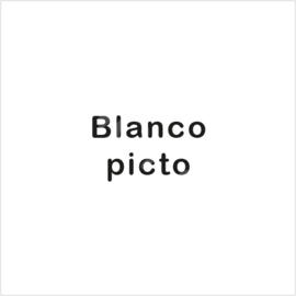 ZW/W - 4,9x4,9 cm - Blanco