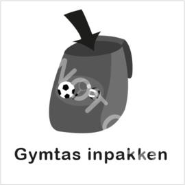 ZW/W - Gymtas inpakken