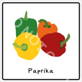 Groente - Paprika (Eten)