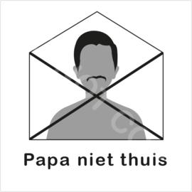 ZW/W - Papa niet thuis