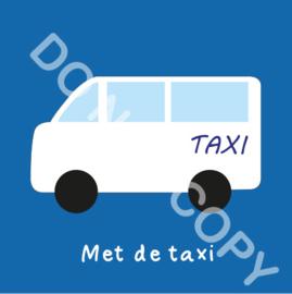 Met de taxi (A)