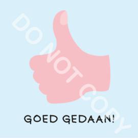 GOED GEDAAN! (M)