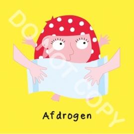 Afdrogen Mia (O)
