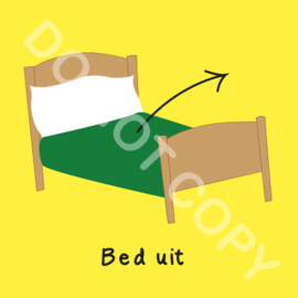 Bed uit (O)