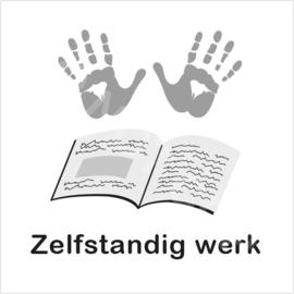 ZW/W - zelfstandig huiswerk