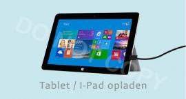 Tablet / I-Pad opladen - J