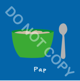 Pap eten (A)
