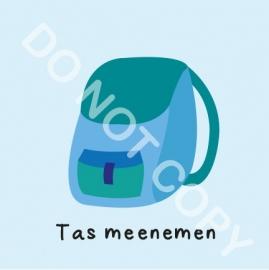 Tas meenemen (M)