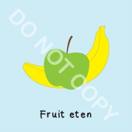 Fruit eten (M)