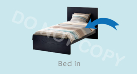 Bed in - J