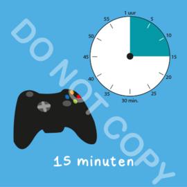 Game tijden 15 min (BT) - T