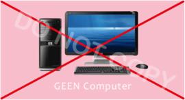 GEEN computer - T-M/TV