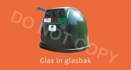 Glas in glasbak - T/V
