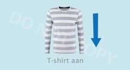 T-Shirt LM aan - J
