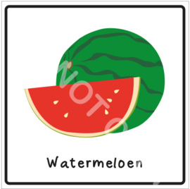 Fruit - Watermeloen (Eten)