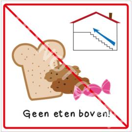Geen eten boven! (HR)