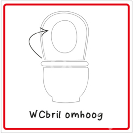 WCbril omhoog (HR)