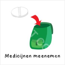 Medicijnen meenemen (S)