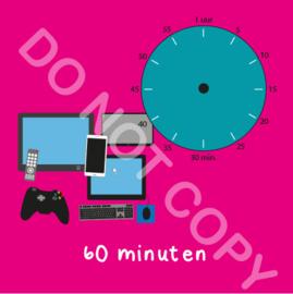 Beeldschermtijd 60 min (BT) - R