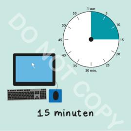 Computer tijden 15 min (BT) - M