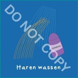 Haren wassen (A)