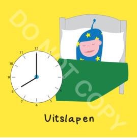 Uitslapen 8 uur Mighty (O)