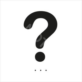ZW/W - Vraagteken