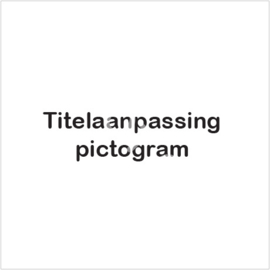Titelaanpassing pictogram