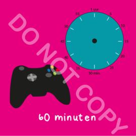 Game tijden 60 min (BT) - R