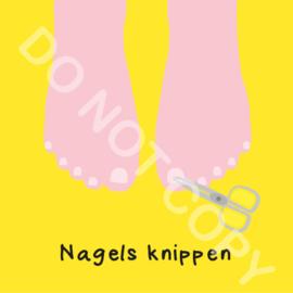 Nagels knippen (voeten) (O)