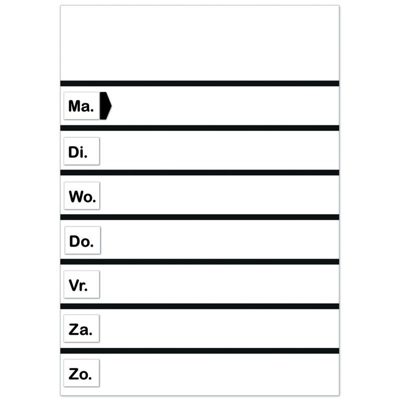 Planbord BASIC - HO