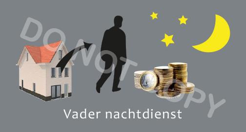 Vader nachtdienst - T/V