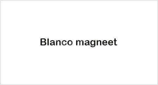 Blanco magneet TV