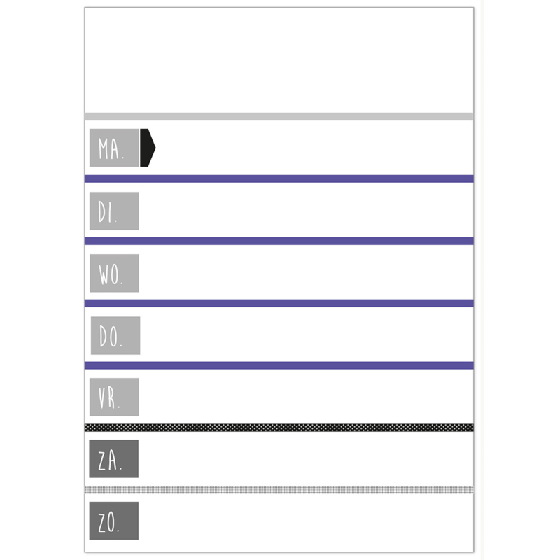 Planbord Grafic - HO