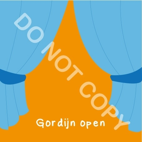 Gordijn open (K)
