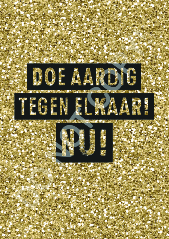 Doe aardig! NU! - TV
