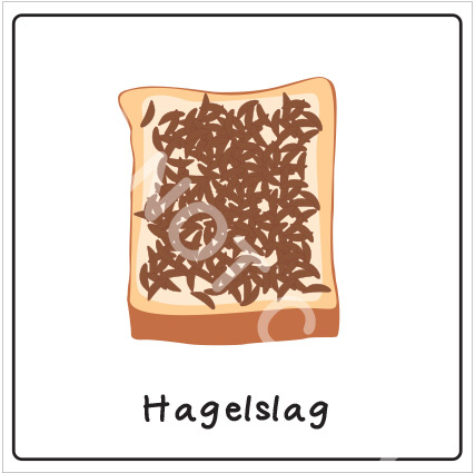 Broodbeleg - Hagelslag