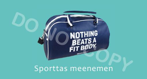 Sporttas meenemen - M
