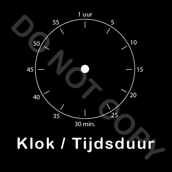 ZW/W - Klok/Tijdsduur - Nacht
