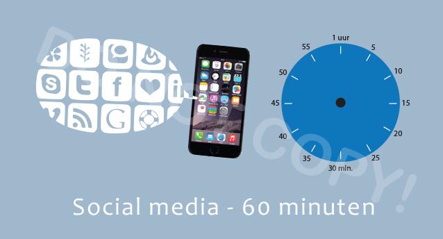 Social media 60 J/TV