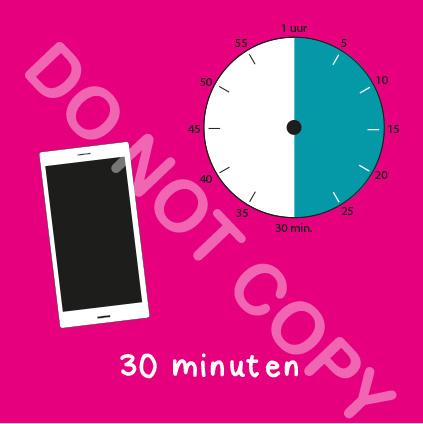 Mobiel tijden 30 min (BT) - R