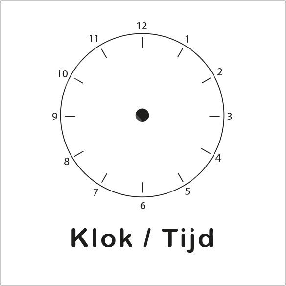 ZW/W - Klok/Tijd - Ochtend
